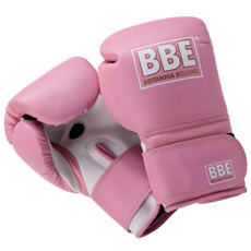 BBE 12oz Pink Leather Gloves